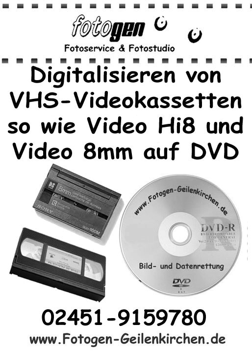 VHS Video digitalisieren